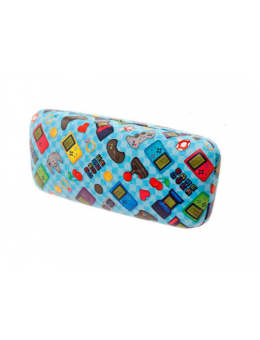 Game Over Glasses Case Retro Gaming...