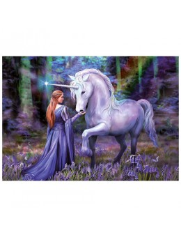 Bluebell Woods Anne Stokes puzzle...