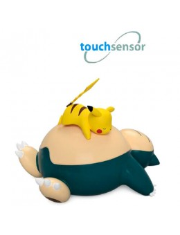 Pokemon Snorlax and Pikachu Led Touch...