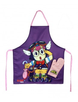 Dr. Slump cooking apron with oven...