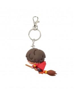 Harry Potter Rubber Keychain Harry...