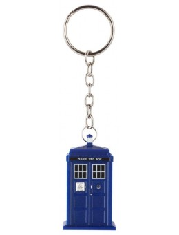Doctor Who Light-Up Keychain Tardis