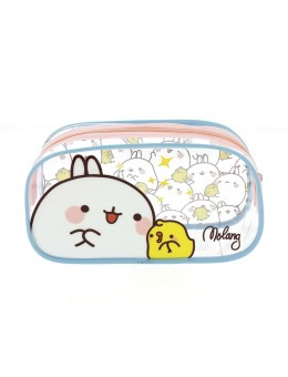 Molang Pencil Case / Make Up Bag Molang