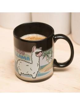Llama Heat Change Mug No Probllama