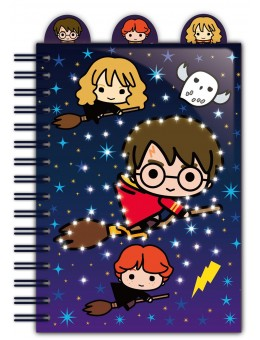 Harry Potter Light Up Notebook with...