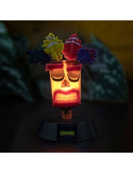Crash Bandicoot 3D Icon Light Aku Aku...