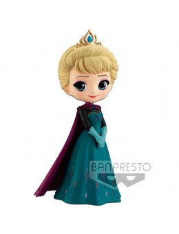 Disney Q Posket Mini Figure Elsa...