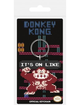 Donkey Kong Rubber Keychain It's On...
