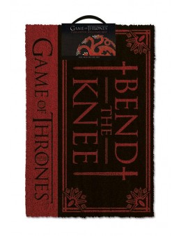 Game of Thrones Doormat Bend the Knee...