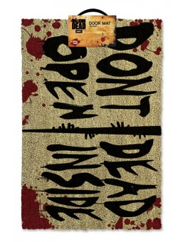 Walking Dead Doormat Don't Open Dead...