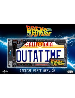 BTTF OUTATIME LICENCE PLATE - Replica...