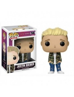 Justin Bieber POP! Rocks Vinyl Figure...