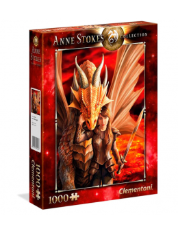 Anne Stokes Inner Strength puzzle...