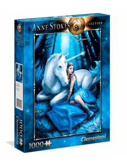 Anne Stokes Blue Moon puzzle 1000pcs