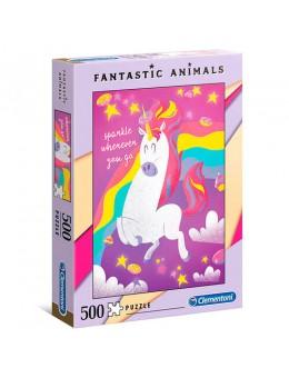 Fantastic Animals Unicorn puzzle 500 pcs