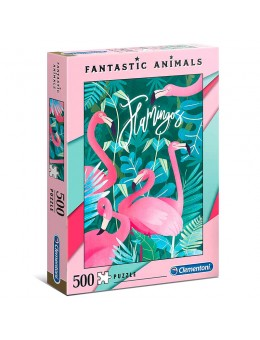 Fantastic Animals Flamingos puzzle...