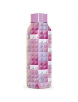 Quokka Solid Pink Bricks bottle daily...