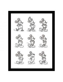 Disney Mickey vintage framed
