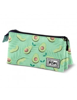 Oh My Pop! Awacate triple pencil case