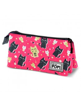 Oh My Pop! Cats triple pencil case