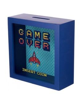 Game Over Insert Coin money box