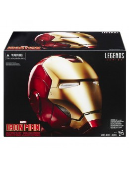 Marvel Legends Electronic Helmet Iron...