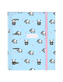 Moos Panda in cartone A4 Cartella con...