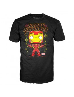 Funko Marvel Iron Man Holiday t-shirt