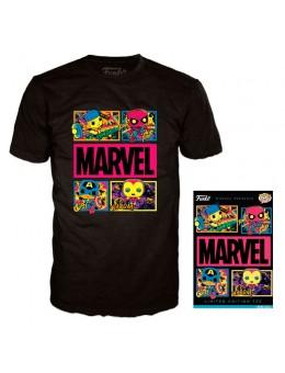 Funko Marvel Blacklight t-shirt...