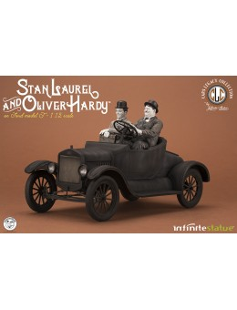 Laurel & Hardy On Ford Model T 1/12...