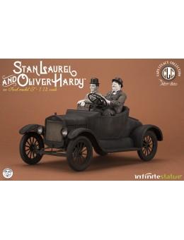 Laurel & Hardy On Ford Model T 1/12...