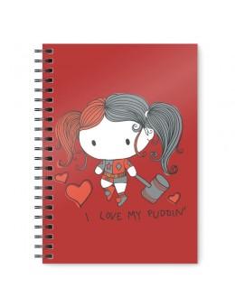 DC Comics Harley Quinn Chibi A5 notebook