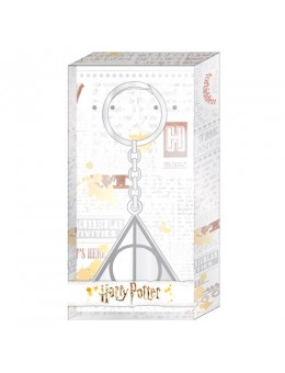 Harry Potter Deathly Hallows keychain