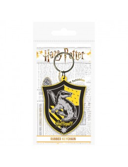Harry Potter Hufflepuff rubber keychain
