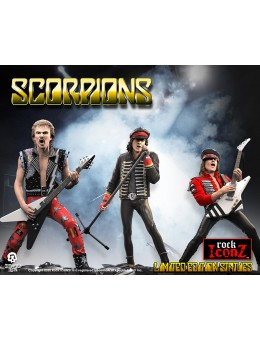 Rock Iconz Scorpions Band Statue Set
