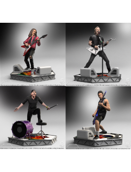 Rock Iconz Metallica Statue Set