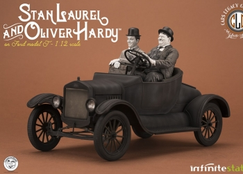 Laurel & Hardy On Ford Model T 1/12, semplicemente un capolavoro!